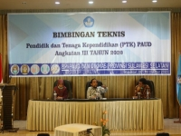 Dr. Muhammad Hasbi Opened Technical Guidance of PTK PAUD