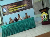Technical Orientation of Quality Data Collectors of PAUDNI 2015 in Southeast Sulawesi