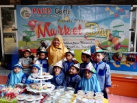 PAUD Ceria Holds Market Day to Enhance Entrepreneurial Talent