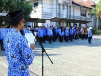 Commemoration Day of Pancasila Supremacy in Modest
