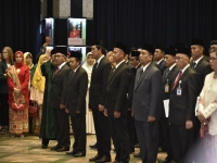 Today, Minister of Education and Culture Inaugurated 135 Officials
